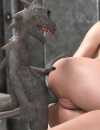 Naughty elfins fucked with huge goblin cocks online � astonishing 3d monster porn online