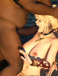 Awesome Warcraft bitch gets her ass deep fucked